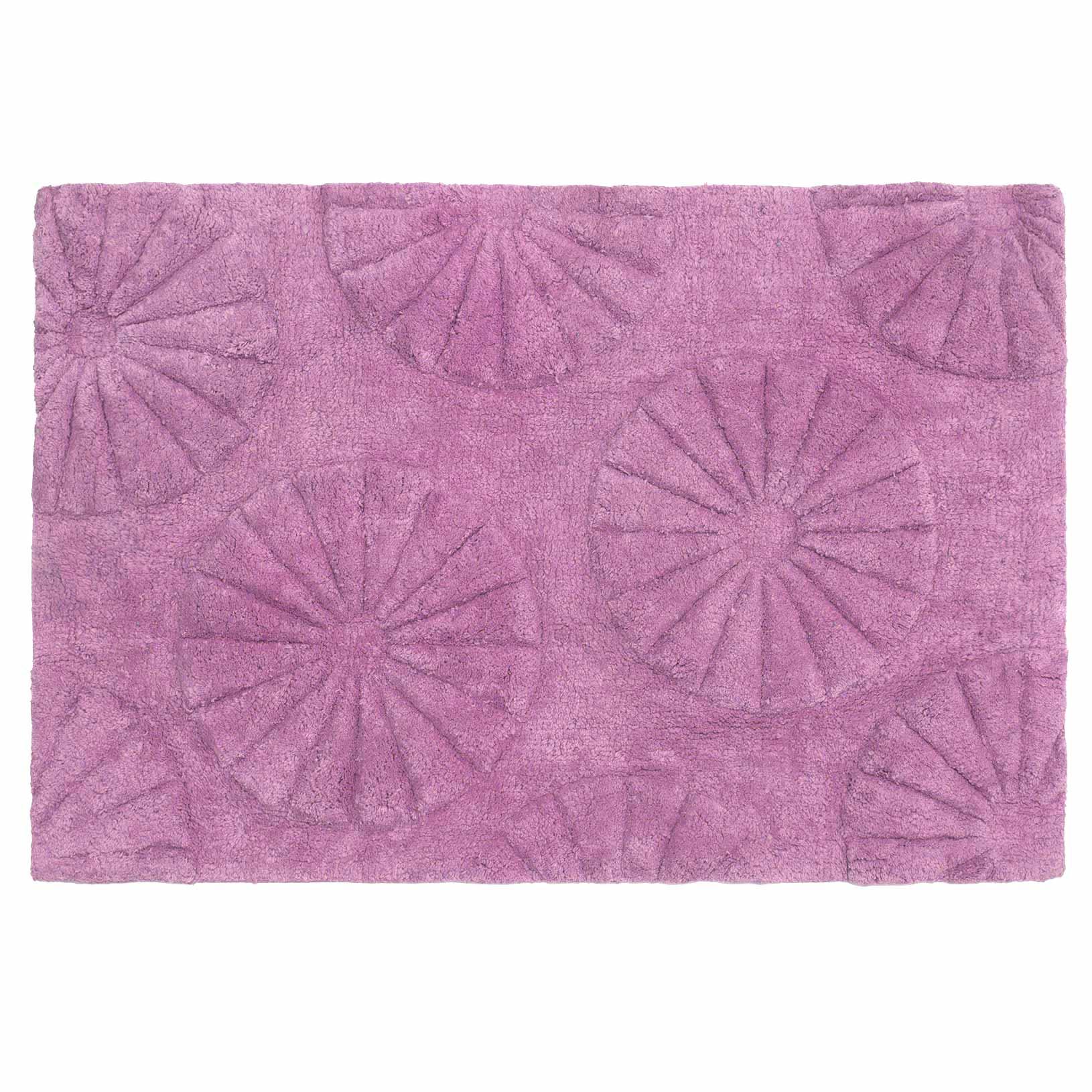Πατάκι Μπάνιου (60×90) Palamaiki Sun Violet