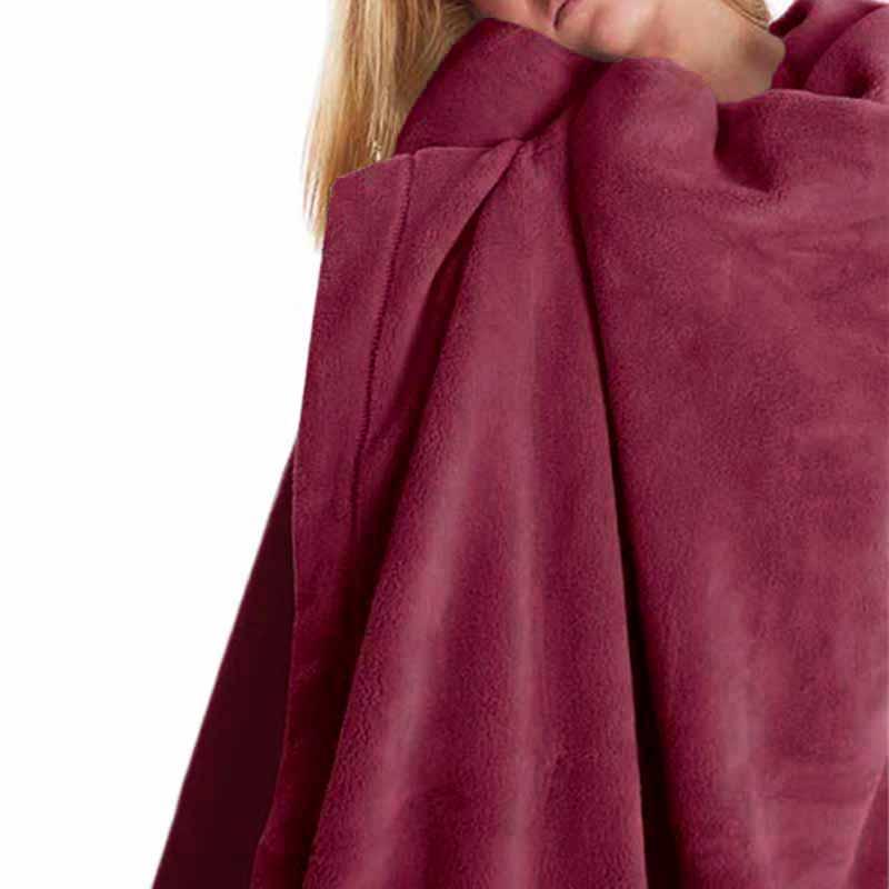 Κουβέρτα Fleece Μονή Palamaiki Polar Wine