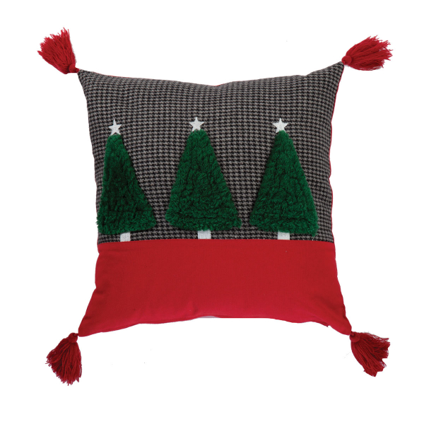 Χριστουγεννιάτικο Μαξιλάρι (45x45) Nef-Nef Christmas Trees