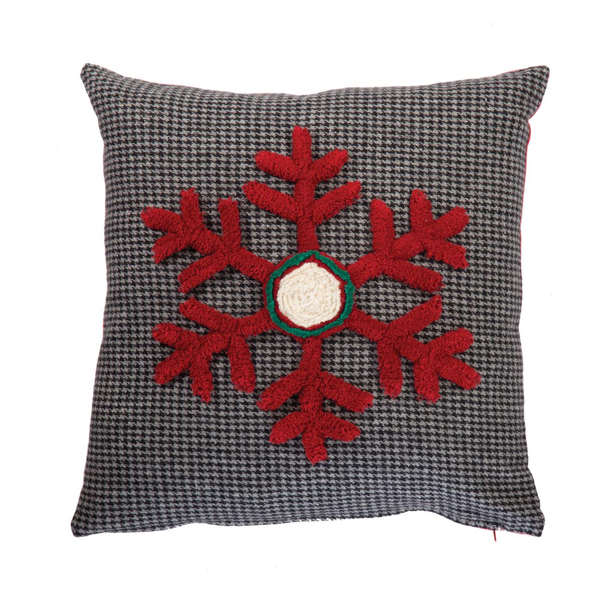 Χριστουγεννιάτικο Μαξιλάρι (45×45) Nef-Nef Snow Flake