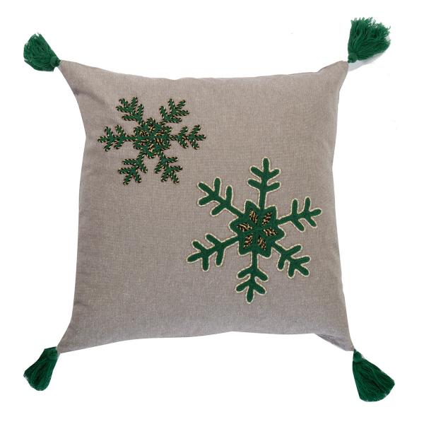 Χριστουγεννιάτικο Μαξιλάρι (45x45) Nef-Nef Snow Time