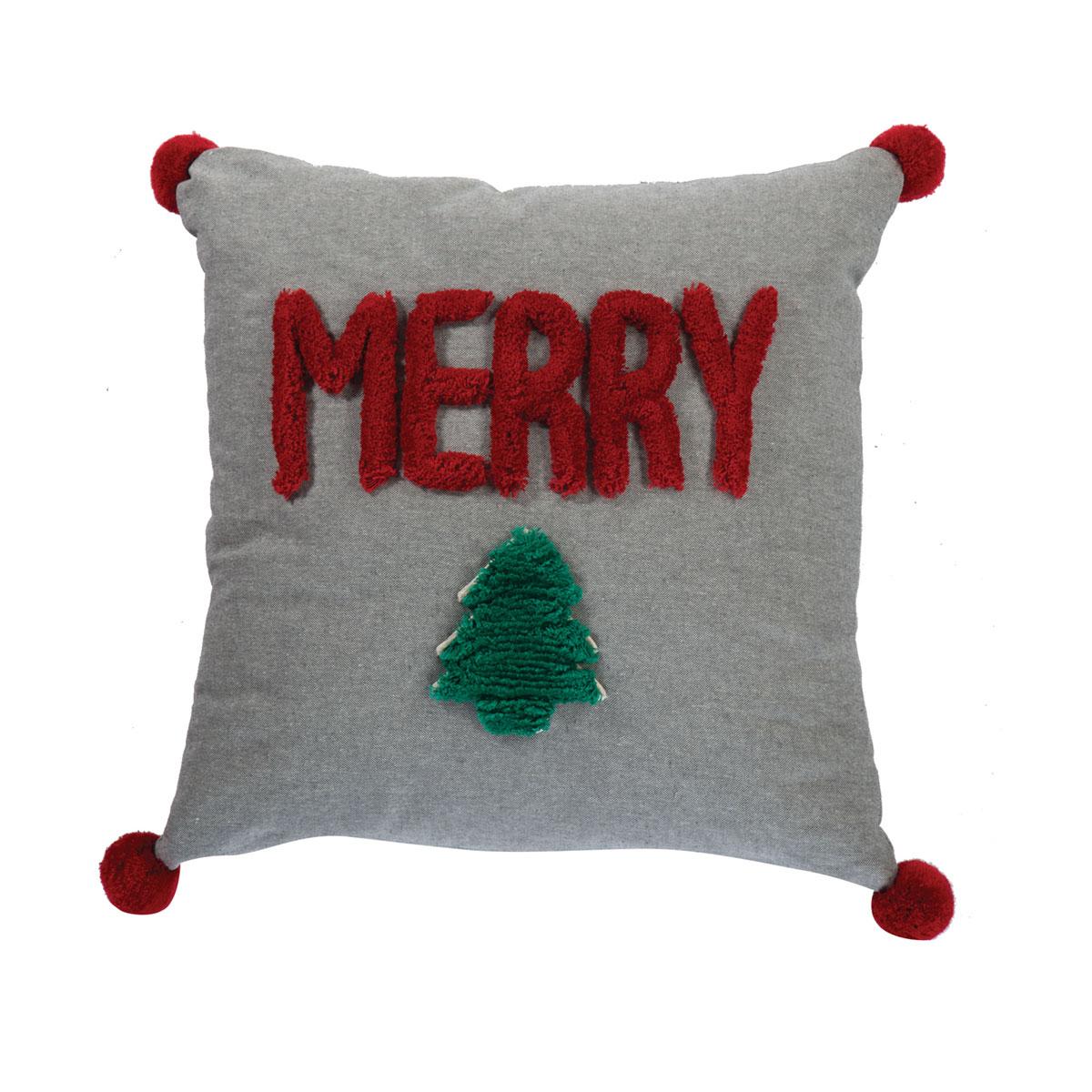 Χριστουγεννιάτικο Μαξιλάρι (45×45) Nef-Nef Merry Christmas 20