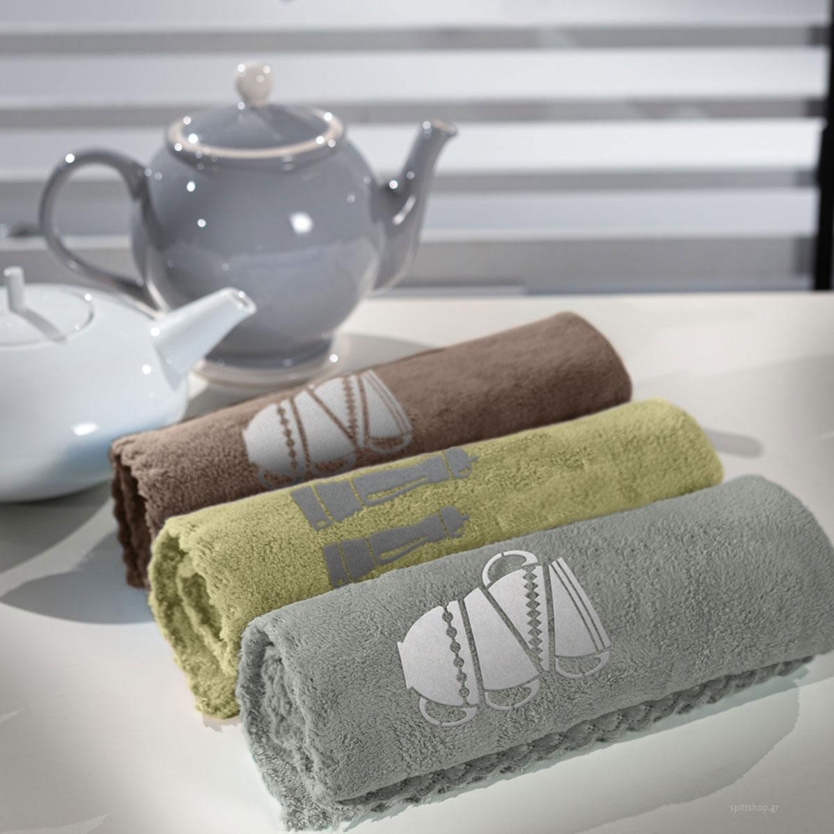 Πετσέτες Κουζίνας (Σετ 2τμχ) Guy Laroche Gourmet Set 5