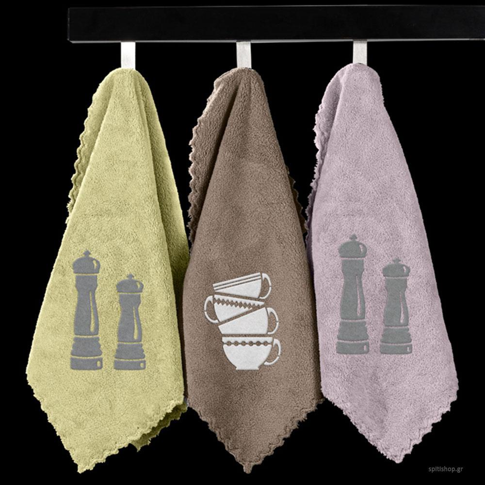 Πετσέτες Κουζίνας (Σετ 2τμχ) Guy Laroche Gourmet Set 6
