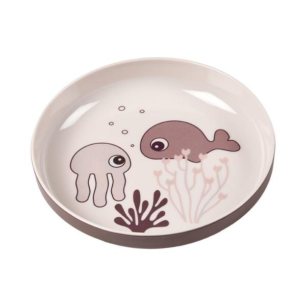 Πιάτο Done By Deer Yummy Mini Sea Friends Powder BR75263