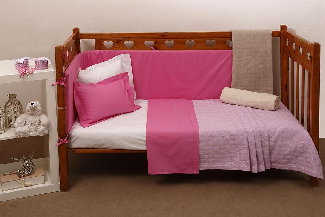 Κουβερτόριο Κούνιας Anna Riska Baby Dominic Lilac home   βρεφικά   κουβέρτες βρεφικές   κουβέρτες καλοκαιρινές