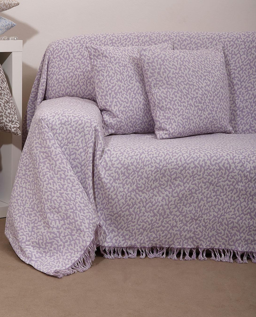 Ριχτάρι Τετραθέσιου (180x320) Anna Riska Des 1501 Lavender