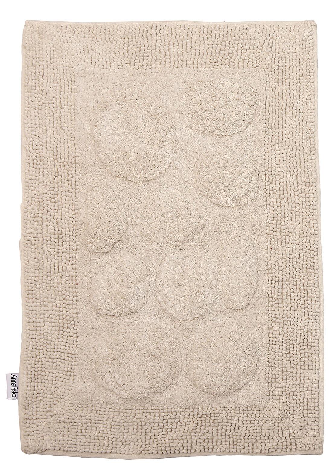 Πατάκι Μπάνιου (50x80) Anna Riska Rock Ivory