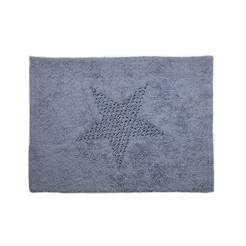 Πατάκι Μπάνιου (60x80) Down Town Star Blue