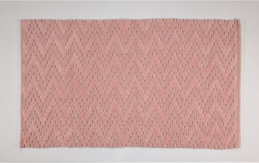 Χαλί Διαδρόμου (70×150) Down Town Chevron Salmon 39145