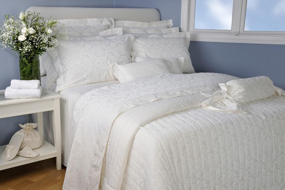 Ζεύγος Μαξιλαροθήκες Oxford Down Town Damas White S 534 39220
