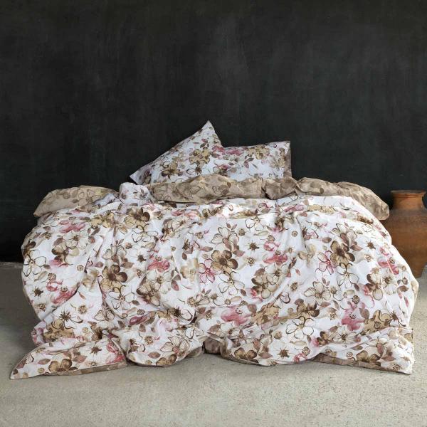 Πάπλωμα Υπέρδιπλο Nima Bed Linen Brindille Terracotta