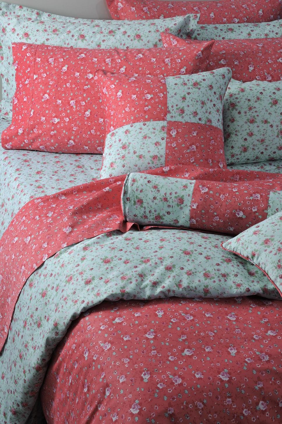 Κουβερλί Υπέρδιπλο (Σετ) Down Town Queen Annie Aqua S 632 home   κρεβατοκάμαρα   κουβερλί   κουβερλί υπέρδιπλα