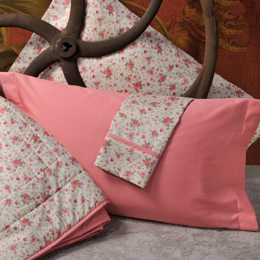 Κουβερλί Υπέρδιπλο (Σετ) Down Town Queen Annie Peach S 633 home   κρεβατοκάμαρα   κουβερλί   κουβερλί υπέρδιπλα