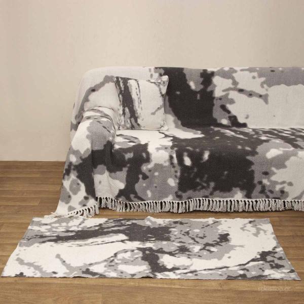 Ριχτάρι Πολυθρόνας (170x170) Viopros 3050 Γκρι