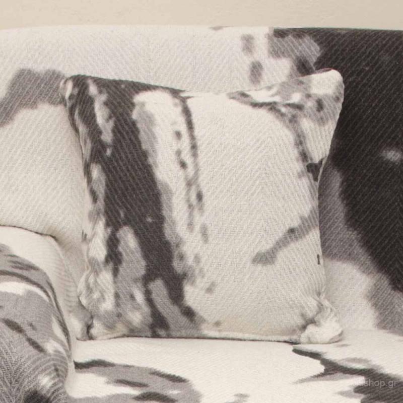 Διακοσμητικό Μαξιλάρι (40x40) Viopros 3050 Γκρι