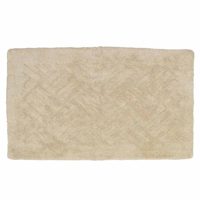 Πατάκι Μπάνιου (50x80) Viopros Άλφα Μπεζ