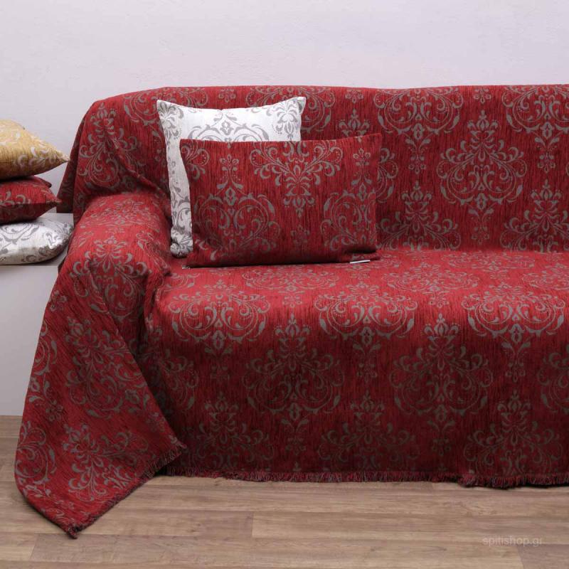 Ριχτάρι Τετραθέσιου (180x320) Anna Riska 1437 Red