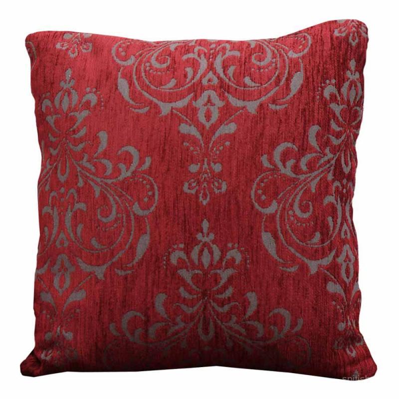 Ζεύγος Διακοσμητικές Μαξιλαροθήκες (45x45) Anna Riska 1437 Red