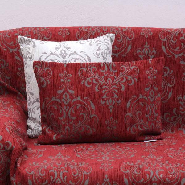 Διακοσμητικό Μαξιλάρι (32x52) Anna Riska 1437 Red