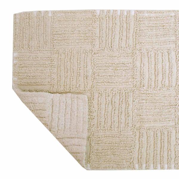 Πατάκι Μπάνιου 2 Όψεων (50x80) Anna Riska Domino Ivory