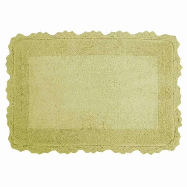 Πατάκι Μπάνιου (50x80) Anna Riska Lace Green Apple
