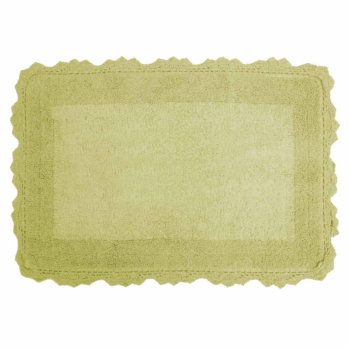Πατάκι Μπάνιου (50×80) Anna Riska Lace Green Apple