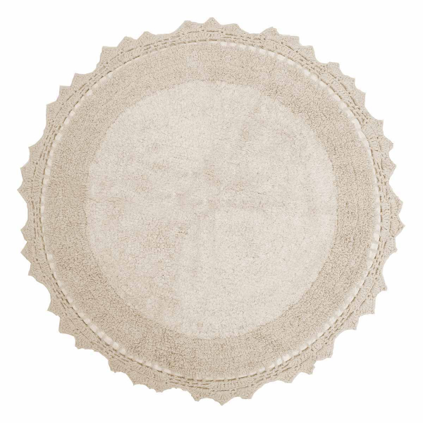 Πατάκι Μπάνιου (Φ60) Anna Riska Lace Ivory