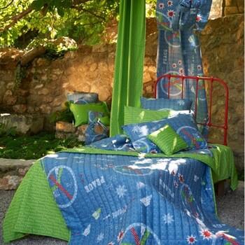 Παιδική Κουρτίνα (180x275) Με Θηλιές Down Town Dreamland D0010