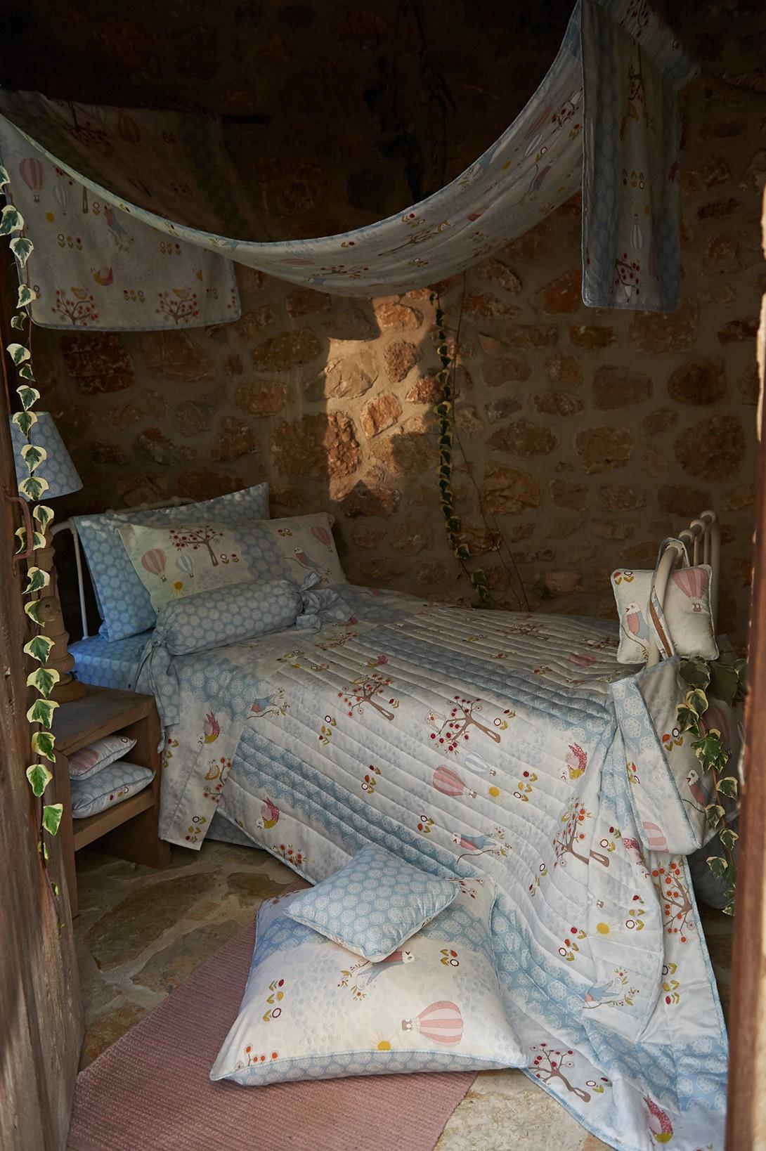 Παιδική Κουρτίνα (180x275) Με Θηλιές Down Town Dreamland D0014 home   κουρτίνες   κουρτίνες παιδικές