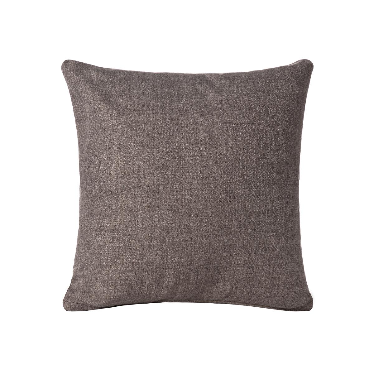 Διακοσμητική Μαξιλαροθήκη (65×65) Silk Fashion A803 Γκρι/Καφέ