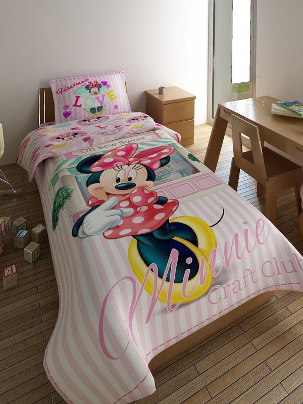 Κουβερλί Μονό (Σετ) Limneos Disney Minnie Sweets 693