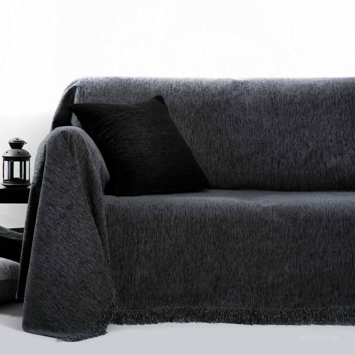 Ριχτάρι Διθέσιου (180×240) Anna Riska Des 1300 Dark Grey