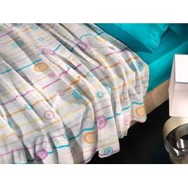 Κουβέρτα Fleece Υπέρδιπλη Nima DD-05