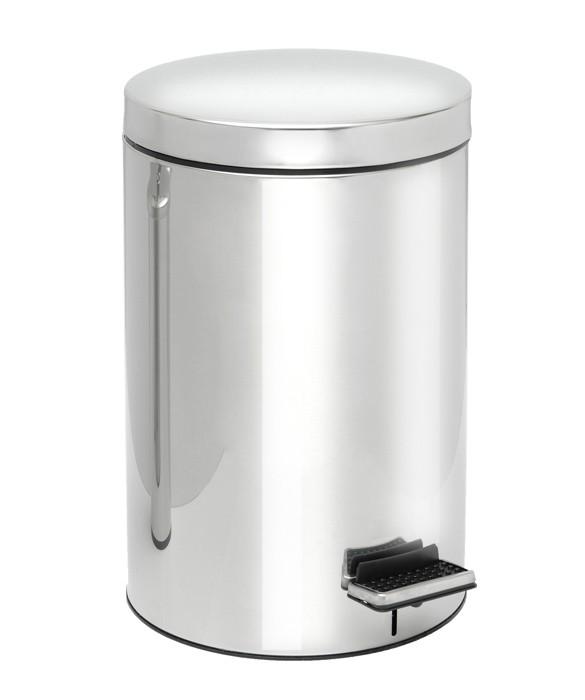 Κάδος Απορριμμάτων (25x40) PamCo 12Lit 300 Inox home   μπάνιο   κάδοι απορριμμάτων