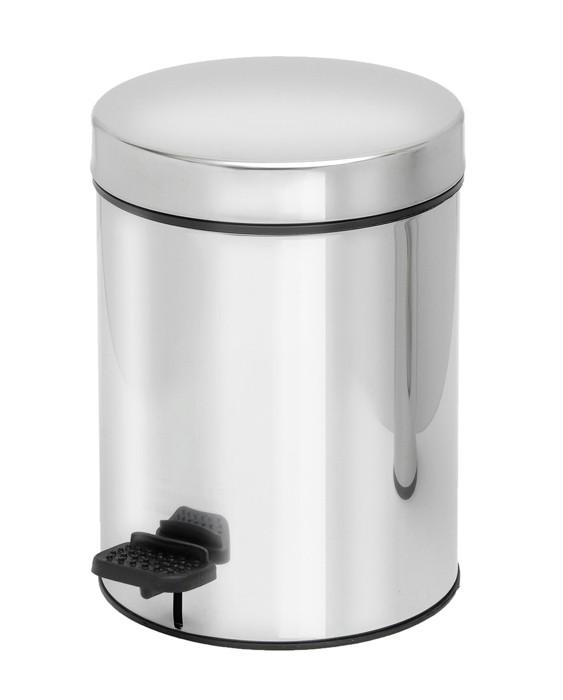 Κάδος Απορριμμάτων (18x25) PamCo 3Lit 601 Inox home   μπάνιο   κάδοι απορριμμάτων
