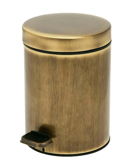 Κάδος Απορριμάτων (18x26) PamCo 3Lit 608 Bronze