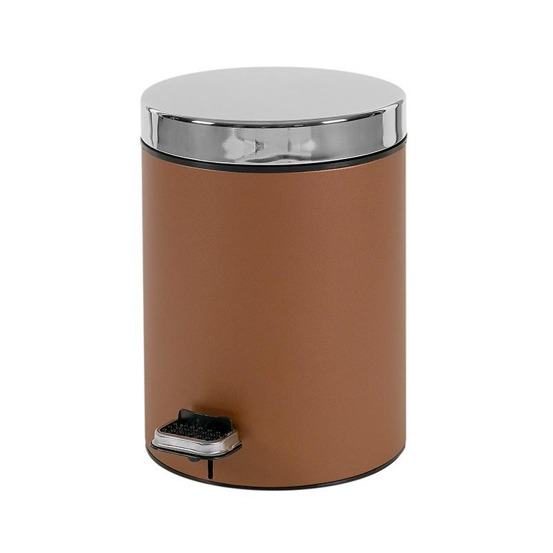 Κάδος Απορριμμάτων (20x28) PamCo 5Lit 125 Brown Matte