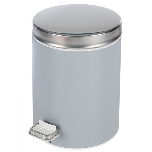 Κάδος Απορριμμάτων (20x28) PamCo 5Lit 125 Grey