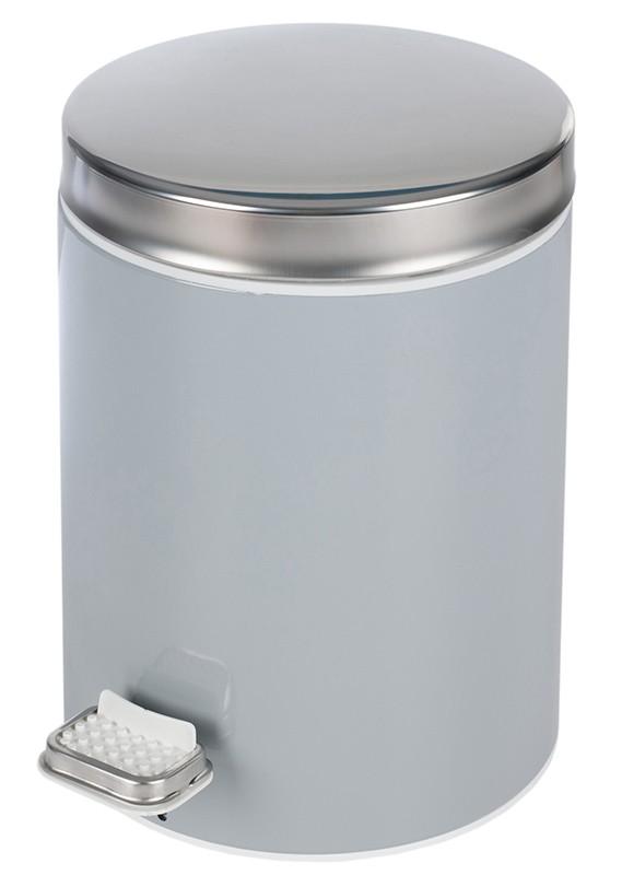 Κάδος Απορριμάτων (20×28) PamCo 5Lit 125 Grey