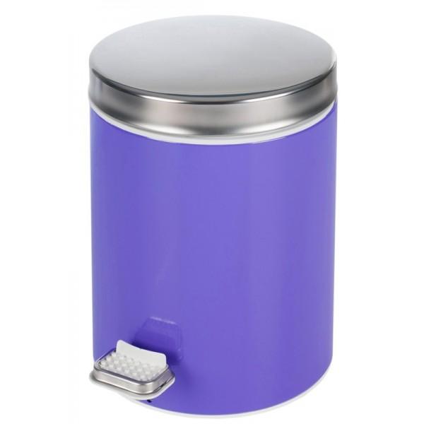 Κάδος Απορριμμάτων (20x28) PamCo 5Lit 125 Purple