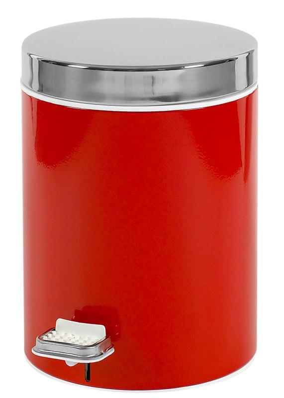 Κάδος Απορριμάτων (20x28) PamCo 5Lit 125 Red
