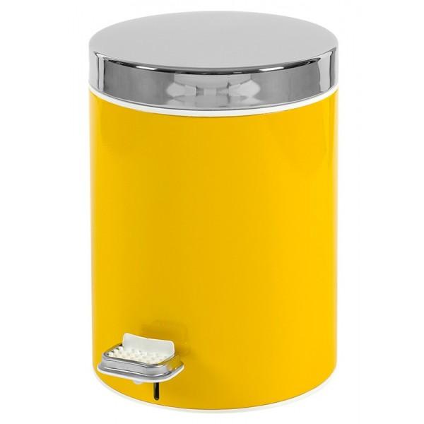Κάδος Απορριμάτων (20x28) PamCo 5Lit 125 Yellow