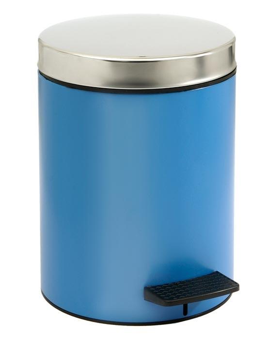 Κάδος Απορριμάτων (20×28) PamCo 5Lit 126 Blue Matte