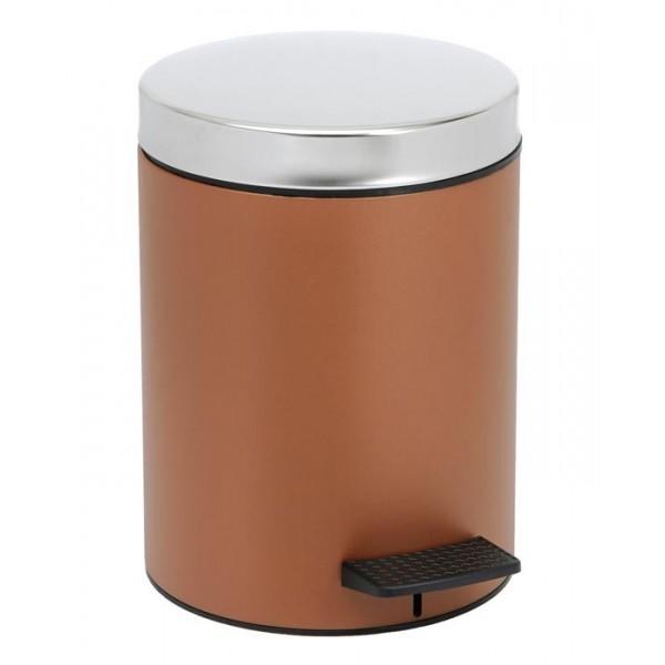Κάδος Απορριμμάτων (20x28) PamCo 5Lit 126 Brown Matte