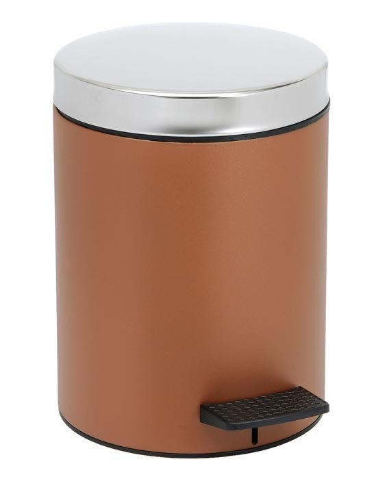 Κάδος Απορριμάτων (20x28) PamCo 5Lit 126 Brown