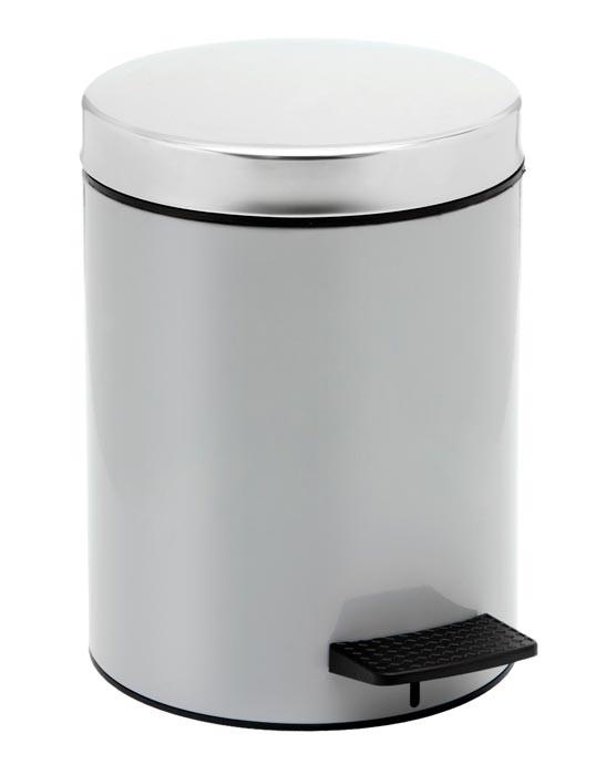 Κάδος Απορριμάτων (20×28) PamCo 5Lit 126 Grey