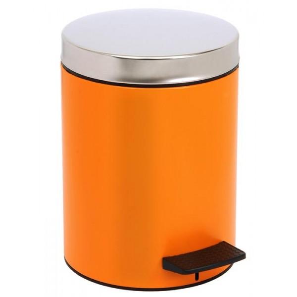 Κάδος Απορριμμάτων (20x28) PamCo 5Lit 126 Orange Matte