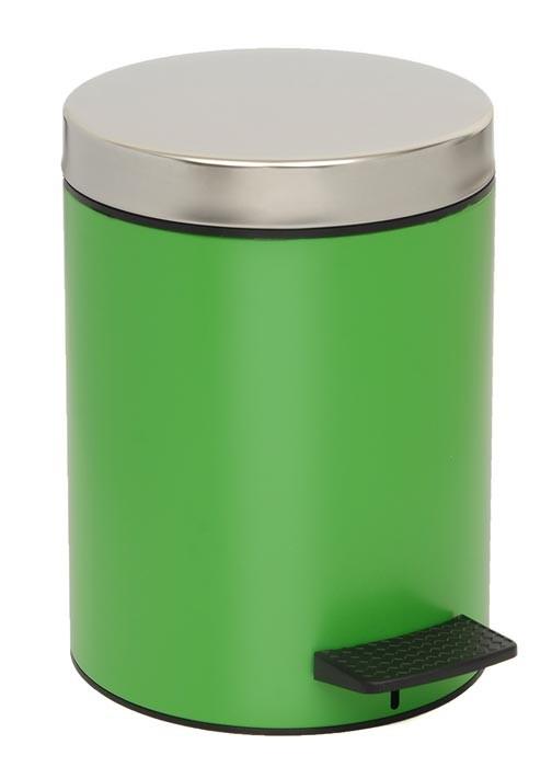 Κάδος Απορριμμάτων (20×28) PamCo 5Lit 126 Verde Matte