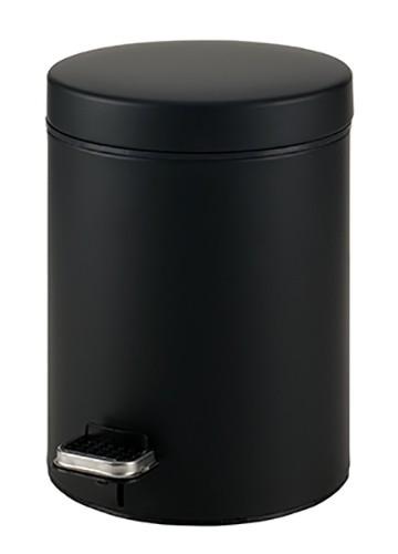 Κάδος Απορριμάτων (20x28) PamCo 5Lit 95 Black Matte